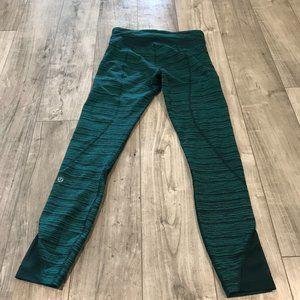 Lululemon Inspire Tight II (Mesh) Deep Green